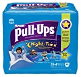 Pull-Ups Night-time Training Pants, Size 3T-4T, Boy, 46 Count (Pack of 2)