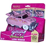 "Fisher Price Shake N Go Crash Ups Car Pink Low Rider [Dimension : 6 1/2"" (L) X 3 1/2"" (W) X 2 1/2""(H)]"