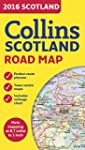 2016 Collins Map of Scotland (Road Map)