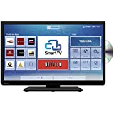 "Toshiba 32D3453 LED HD Ready Smart TV/DVD Combi Wi-Fi 32"" with Built-in Freeview HD (discontinued by manufacturer)"