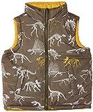 Hatley Little Boys Little Boys Reversible Puffer Vest Dino Bones