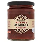 Hot Mango Chutney Waitrose 350g