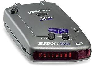 Escort Passport 8500 X50 Radar and Laser Detector (Red Display)