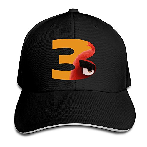 PTCY 3 Movie Poster Sandwich Peak Trucker Hat Flexfit Cap Black