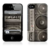 GelaSkins The HardCase Protective Case for iPhone 4S & 4 - Boombox