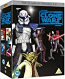 Star Wars: The Clone Wars - The Complete Seasons 1-4 [DVD] [2012]