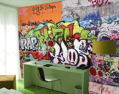 Giant Wall Mural Photo Wallpaper Graffiti Wall 400 X 280 Cm