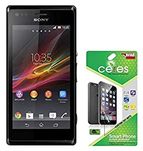 Ceres AquaShieldz Two Ultra Clear & Two Diamond Screen Guard Protector For Sony Xperia M (Pack Of 4)