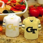 Jersey Salt & Pepper Shakers Georgia Tech