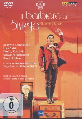 El Barbero De Sevilla (Battistoni) - Rossini - DVD