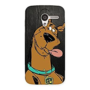 classic Plut Back Case Cover for Moto X