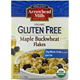 Arrowhead Mills Gluten Free Cereal, Organic Maple Buckwheat Flakes, 10 Ounce (Pack Of 6)