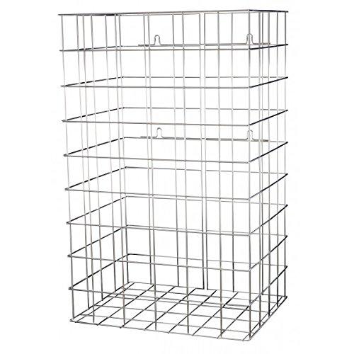 mediqo line gitterbox 60 liter farbe aluminium. Black Bedroom Furniture Sets. Home Design Ideas