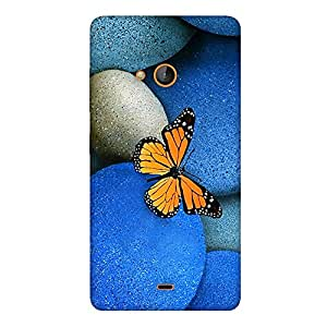 FASHEEN Premium Designer Soft Case Back Cover for Microsoft Lumia 535