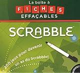 La boîte à fiches effaçables Scrabble®...