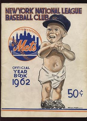 1962 New York Mets Yearbook With April 13th Roster - MLB Programs and Yearbooks at Amazon.com