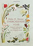 img - for Helen M Steven's Embroiderer's Year book / textbook / text book