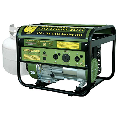 Sportsman Convenient & Portable Electric Generator 4000 Watt with Recoil Start, Great for Outdoor Living