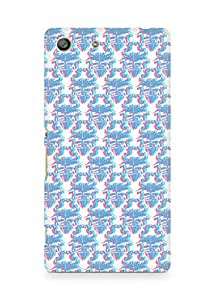 Amez designer printed 3d premium high quality back case cover for Sony Xperia M5 (blur pattern )