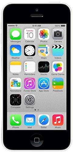 Apple iPhone 5c Smartphone débloqué 4G (Ecran : 4 pouces – 8 Go – iOS 7) Blanc