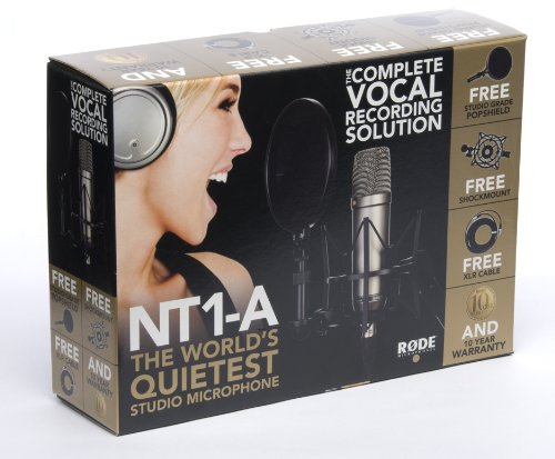 Rode NT1A Anniversary Vocal Condenser Microphone
