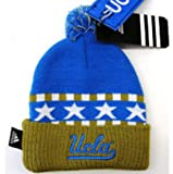 Adidas Kids Cuff Ski Hat Beanie Top UCLA Knit Pom at Amazon.com