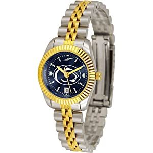 Penn State Nittany Lions NCAA AnoChrome Executive Ladies Watch by SunTime