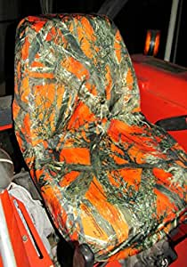 Amazon Com Durafit Seat Covers Kubota Orange Camo Seat