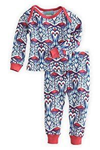 BedHead Baby Flamingo Made in USA PJs