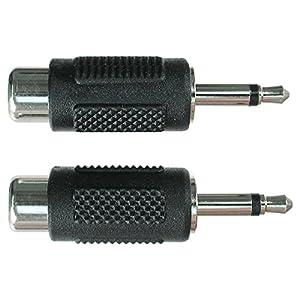 HOSA RCA (F) - MONO 3.5 mm (M) (2 PCS)