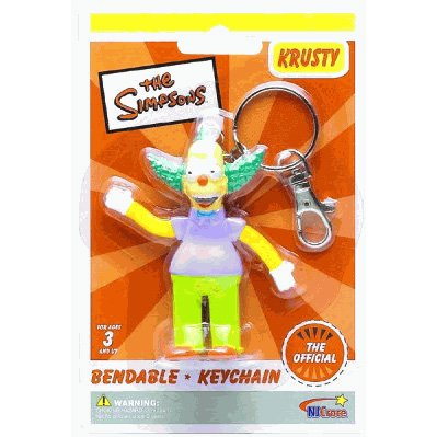 The Simpsons Krusty the Clown Bendable
