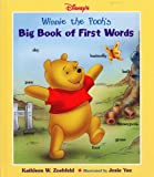 img - for Disney's: Winnie the Pooh's - Big Book of First Words book / textbook / text book