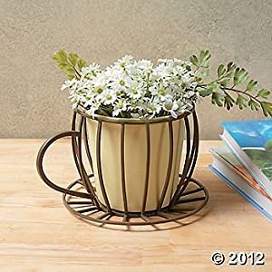 Coffee Cup Planter - Plant Container