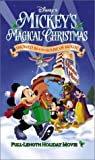 Mickeys Magical Christmas - Snowed in at the House of Mouse [VHS]