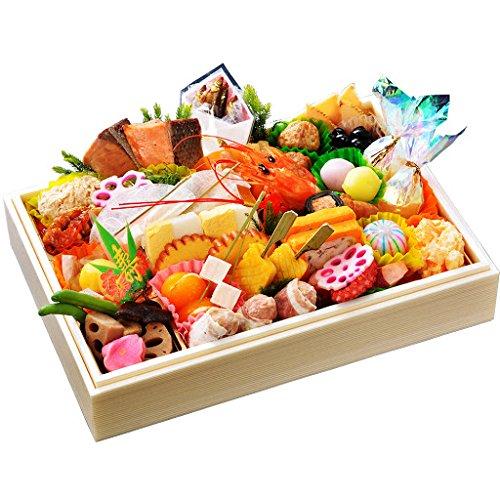 小樽きたいち 海鮮おせち 寿 特別仕様一段重 全34品 12月30日(水)着のみ