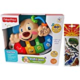 Fisher Price Ligh Up Laugh And Learn Puppy's Piano Early Developmental Activity And Bonus Assorted Stickers 6...