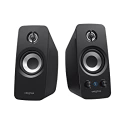 CREATIVE T15 BLUETOOTH WIRELESS 2.0 SPEAKER SYSTEM (BLACK)