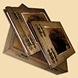 Dark Photo Album & Guestbook In a Box The ideal present for a twosome in love Candles