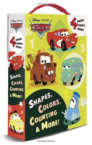 Shapes, Colors, Counting & More! (Disney/Pixar Cars) (Friendship Box) JungleDealsBlog.com
