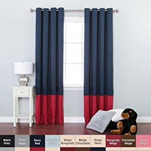Beach Themed Shower Curtain Navy White Curtain Panels