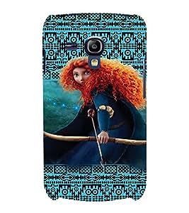 PrintVisa Cute Cartoon Girl Alice 3D Hard Polycarbonate Designer Back Case Cover for Samsung Galaxy S3 Mini