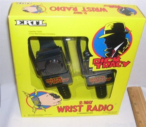 Dick Tracy Two Wrist Radio