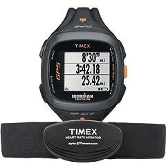 Buy Timex Unisex Ironman Run Trainer 2.0 GPS Digital HRM Watch & Flex Tech Chest Strap by Timex