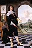 Oil Painting 'School 17th Century - Portrait Of William Style Of Langley,1636' Printing On Perfect Effect Canvas , 20x30 Inch / 51x77 Cm ,the Best Laundry Room Decor And Home Artwork And Gifts Is This Reproductions Art Decorative Canvas Prints