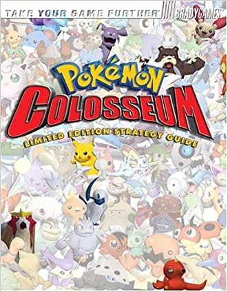 Pokemon Colosseum Limited Edition Stategy Guide