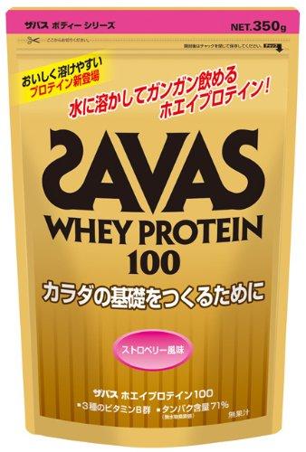◇SAVAS ザバス ホエイプロテイン100 ストロベリー風味 CZ7394