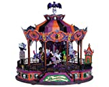 Lemax Spooky Town Sights & Sounds Village Collection Scare-Ousel #74667