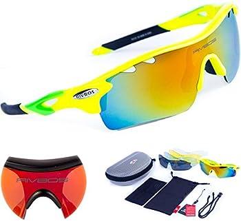 RIVBOS 801 Polarized Sports Sunglasses