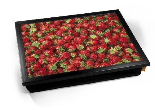 Strawberries Fruit Food Cushion