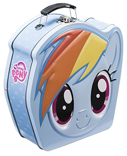Vandor 42270 My Little Pony Shaped Tin Tote, Multicolored - 1
